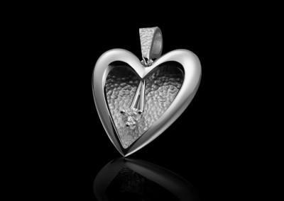 Coeur d'or gris